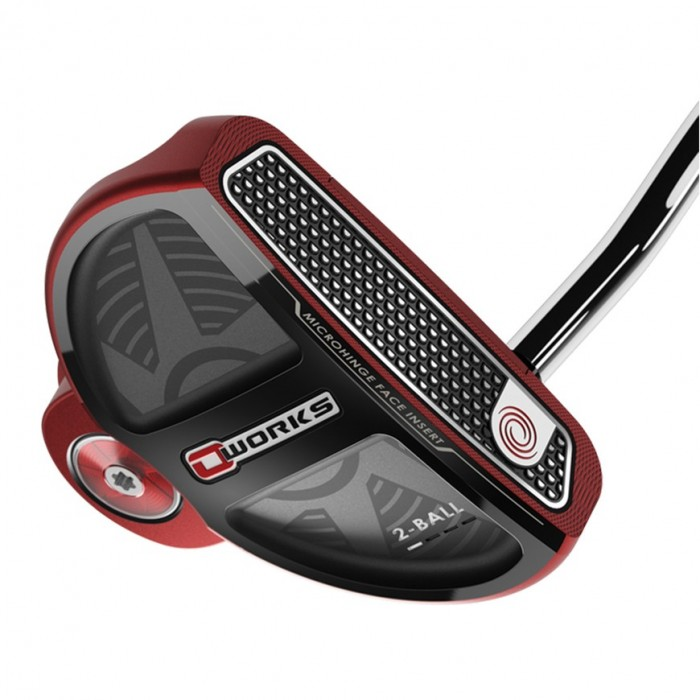 Putter Odyssey O-Works Red 2Ball - Todo Golf tienda de golf México